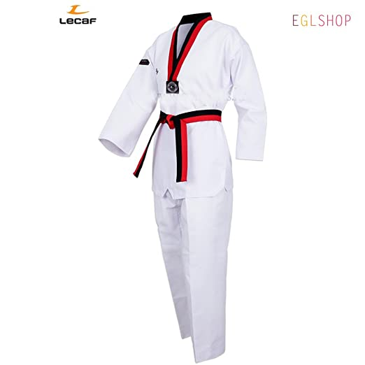 Amazon.com: LECAF - Cinturón de regalo de Poomsae Dobok ...