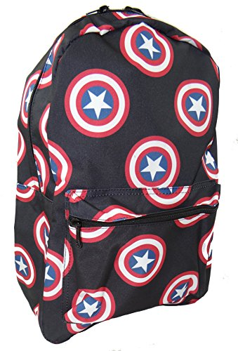Price comparison product image Marvel's Captain America Logo All Over Print Backpack