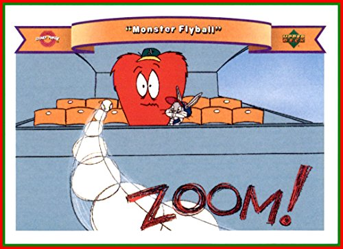 (1991 Looney Tunes Upper Deck Comic Ball #68 Bugs Bunny and The Monster Gossamer)