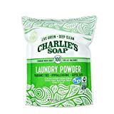 Charlie's Soap Laundry Powder (100 Loads, 1 Pack) Fragrance Free Hypoallergenic Deep Cleaning Laundry Powder - Biodegradable Laundry Detergent That is Both Safe and Effective