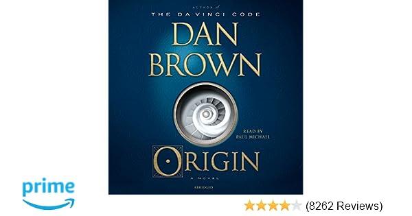 Amazon Origin A Novel Robert Langdon 9780739319260 Dan