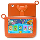 LLLtrade 7 inch Kids Education Tablets Android 5.1 8GB, Kids Software Pre-Installed, Premium Parent Control , Educational Game Apps ,Wifi ,Bluetooth (Orange)