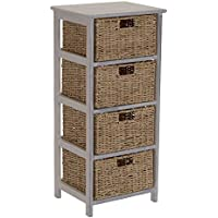 Household Essentials ML-5430 ML-5430 4 Drawer Chest