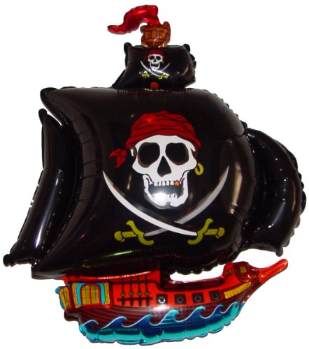 Pirate Ship Bounce House - Fantastic Floatables PIRATE SHIP (BLACK) 36