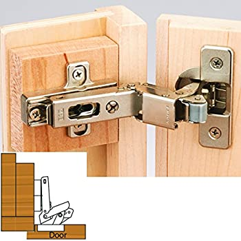 Salice Hinge And Plate For 3 8 In Lipped Face Frame Doors