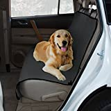 Yes Pets Oxford Waterproof, Tear Proof Bench Style Car Seat Cover, 56-Inch by 47-Inch, Gray