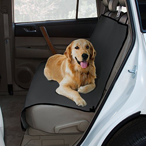 Yes Pets Oxford Bench Style Water-Proof Pet Car Seat Cover for Cars, Trucks and SUVs