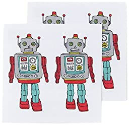 Tattly Temporary Tattoos, Robot, 0.1 Ounce