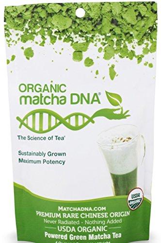 matchaDNA Organic Powdered Matcha Green Tea, 10 Ounce