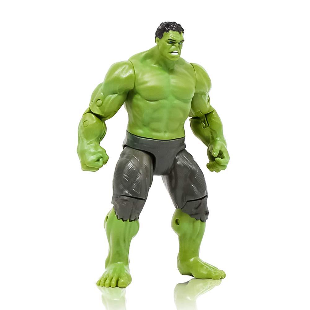 GXHLLYZY Marvel Avengers Series, Figura De Acción De Hulk ...