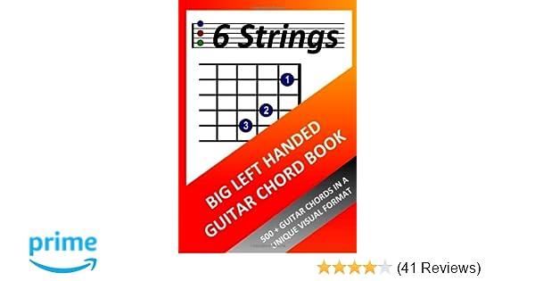 Big Left Handed Guitar Chord Book: Richard Moran: 9781471653766 ...