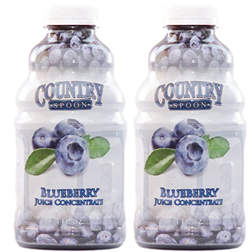 Juice Concentrate by Country Spoon (Blueberry, 34 oz. 2-Pack)