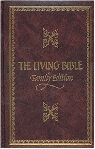 The Living Bible Paraphrased Study Reference Edition Tyndale 9780842322690 Amazon Com Books Audio