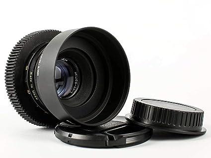 Amazon com : 58mm/F2 Helios Anamorphic Flare Bokeh Portrait Lens for