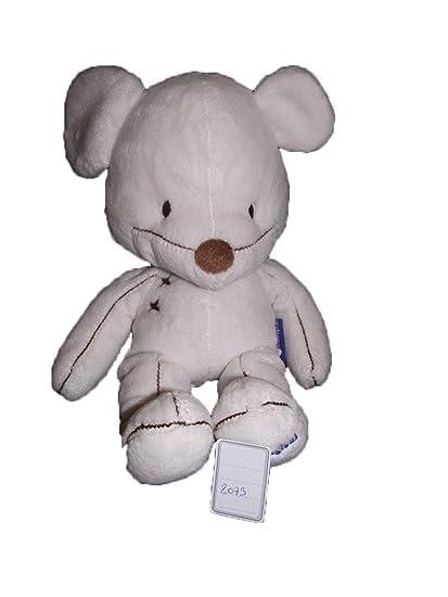 X- otros – Doudou Divers Itsimagical Imaginarium ratón blanco costura marrón – 2073