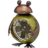 Deco Breeze Frog Figurine Heater Fan