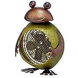 Deco Breeze Frog Figurine Heater Fan