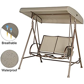 Amazon Com Outdoor Swing Lounge Big And Tall 2 Seat