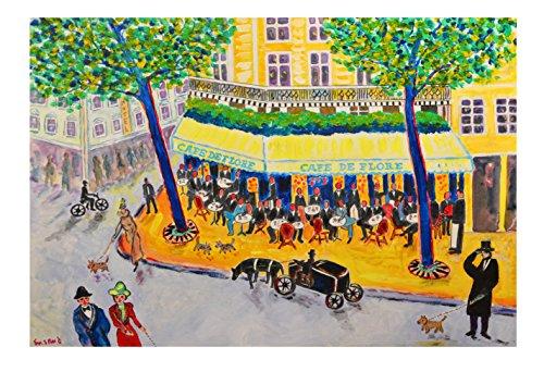 Cafe de Flore, Paris (Paris Fine Art Print)