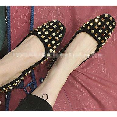 negro otros verde al tacón zapatos Cómodo para gris y piel soporte de aire libre sintética elegante de negro burdeos mujer nzwaSZqpz