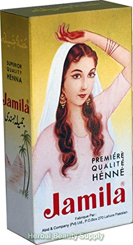 100g Jamila Pure Henna Mehendi Powder Hair Color