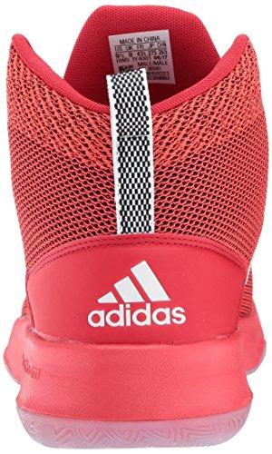 adidas Neo Herren CF-Executor Mid Basketball-Schuhe Scharlachrot / Weiß / Kernrot