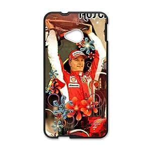 Happy Michael Schumacher F1 Phone Case for HTC One M7
