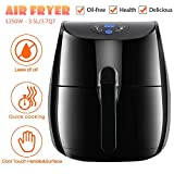 Electric Power Air Fryer XL, 1350W 3.5L/3.7QT Extra Large Capacity Digital Air Fryer with Timer, Smart Automatic Temperature Controls and Rapid Air Circulation Technology – Dishwasher Safe (US STOCK) For Sale