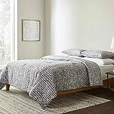 ED Ellen DeGeneres Soledad Comforter Set, King, Grey