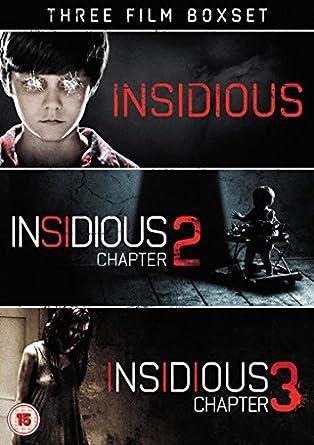 Amazon Com Insidious Triple 3 Dvd Set Insidious Insidious Chapter 2 Insidious Chapter 3 Insidious Insidious Two Insidious Three Non Usa Format Pal Reg 2 Import