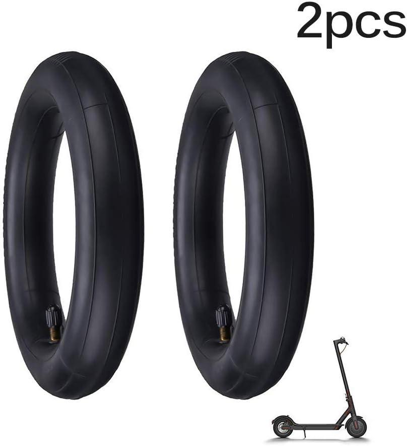 Konesky Neumáticos Interiores de Patinete, 2 Paquetes Reemplazar Tubos Gruesos y Duraderos Neumático de la Rueda Antideslizante Antipinchazos Compatible con el Scooter Eléctrico Xiaomi M365/Pro