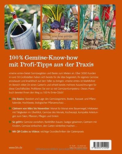 Das 100 Ernte Gluck Buch Praxis Know How Fur Gemusebeet Co