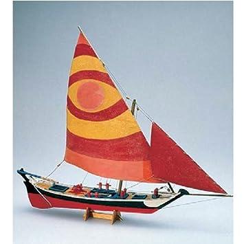 Amati - Kit maqueta barco madera Felucca egipcia: Amazon.es ...
