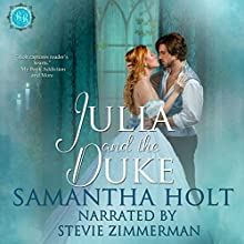 Julia and the Duke: Bluestocking Brides, Book 2 Audiobook by Samantha Holt Narrated by Stevie Zimmerman