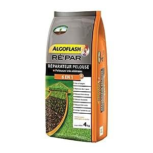 Algoflash repar20Mezcla 6-en-1para Reparación Césped, Orange, 4kg