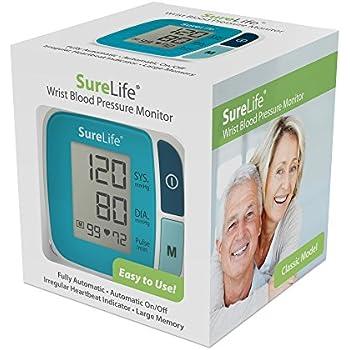 Amazon.com: SureLife Classic Wrist Blood Pressure Monitor