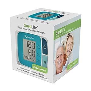 SureLife Classic Wrist Blood Pressure Monitor  -  (1 per box)