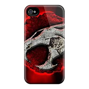 Iphone 4/4s IAy7064dubL Customized Colorful Thundercats Series Anti-Scratch Hard Phone Case -RudyPugh