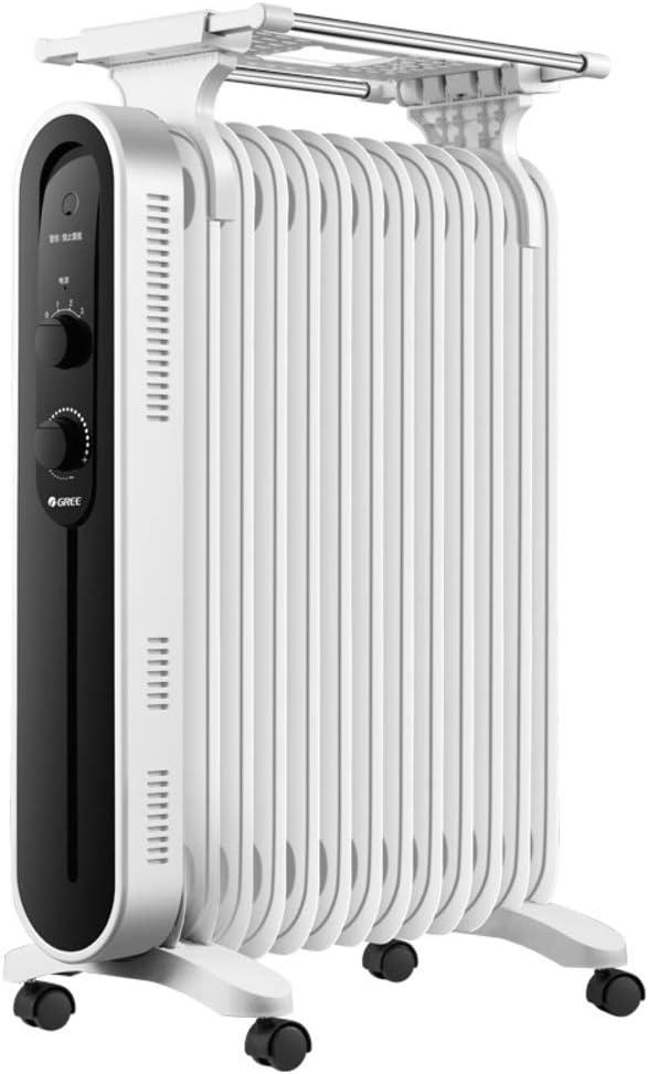 QTQZ Radiador portátil eléctrico,Parrilla eléctrica de la Estufa ...