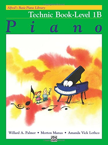 Alfred's Basic Piano Library: Technic Book Level 1B