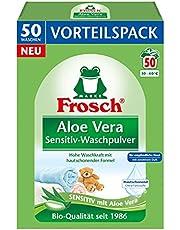 Frosch Aloe Vera Sensitiv-proszek do mycia skóry wrażliwej, 3,3 kg, (1 x 50 prań)