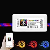 6 ch controller - Feican Bluetooth LED RGB Controller With 24keys IR Remote control -12V 5A Power Adapter Flexible Led Light Home Decoration Lamps (bluetooth controller box)