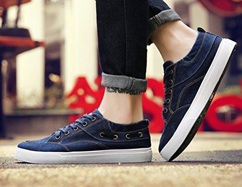 Pechino ginnastica da tela scarpe scarpe WFL d'estate vecchi di scarpe da Scarpe scarpe Blu lavate uomo traspiranti casual primavera wq486z4