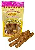 Jones Natural Chews Chicken Tender Taffy (2 of 8 oz Packs) Dog Snack … For Sale