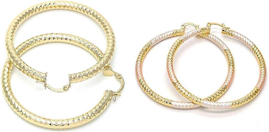 Large 14K Gold Filled Round Hoop Earrings