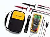 Fluke 179/EDA 6 Piece Industrial Electronics Multimeter Combo Kit with a NIST-Traceable Calibration Certificate with Data