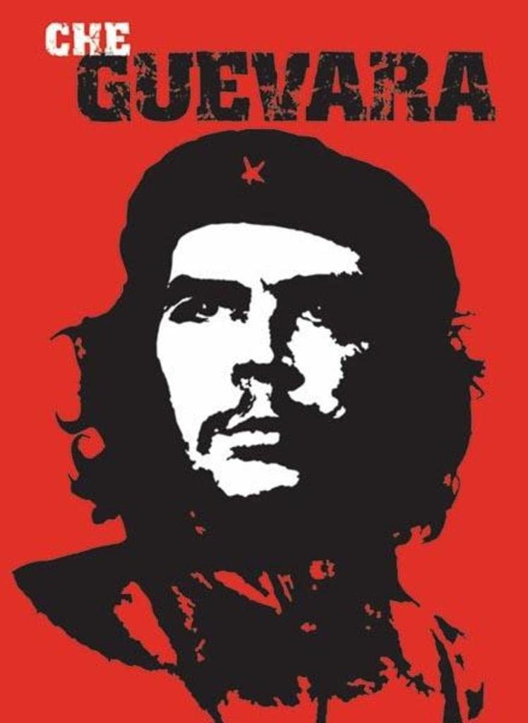 Amazon.com: Pyramid America Che Guevara Red Portrait Wall Art Cool Wall  Decor Art Print Poster 24x36: Posters & Prints