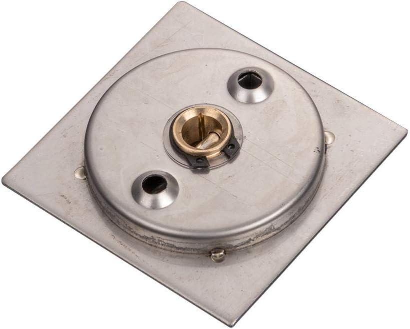 2 Almabner T/ürgriff versenkt Tassenring b/ündig ziehbar elektrische Box-Griffe Wie abgebildet 304 Edelstahl quadratisch unsichtbarer Schiebet/ürgriff