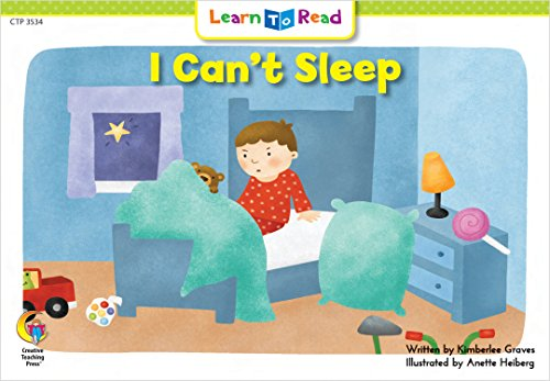 I Can't Sleep (Learn to Read Science Series; Physical Science)