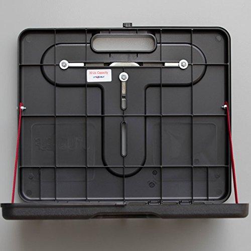 The UtiliShelf - Magnetic Portable Utility Shelf PLUS - 30lb Capacity (Shelf Laptop Innovation)